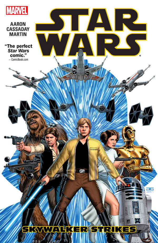 Cover to Star Wars Vol 1 Skywalker Strikes