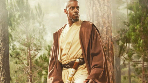 ahmed best as keleran beq on jedi temple challenge