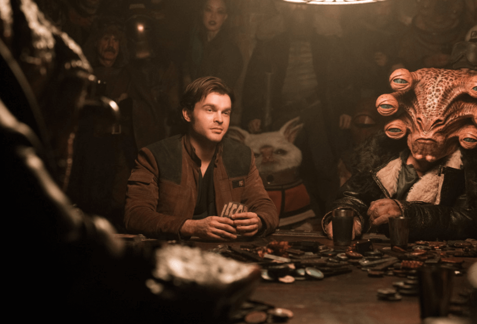 Solo: A Star Wars Story sabacc game