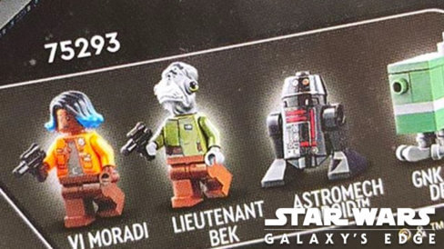 LEGO Minifigures from the rumored Galaxy's Edge LEGO Set