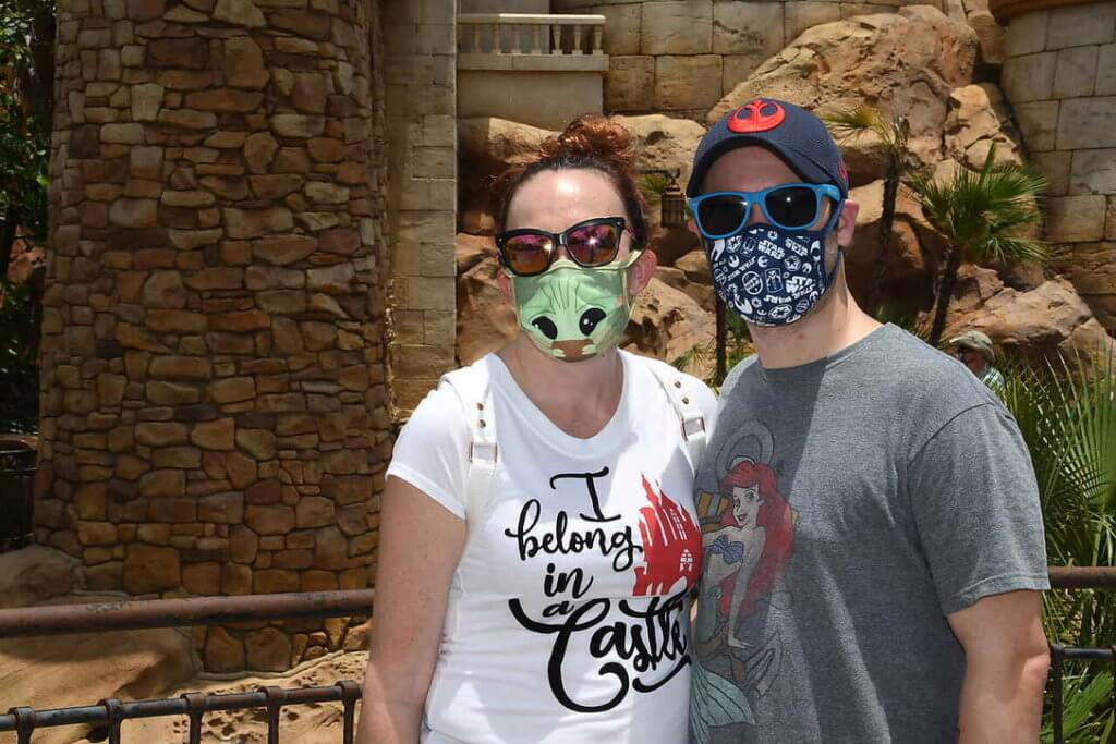 Masks were part of the top 5 things we learned about Disney's reopening.