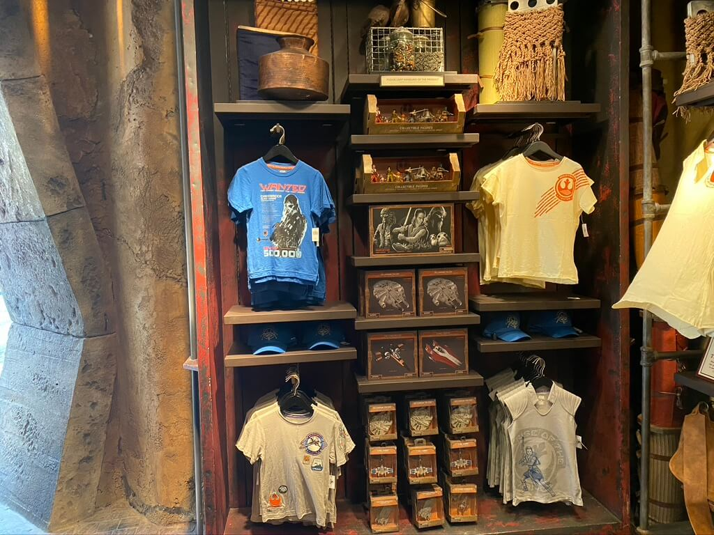 Resistance Merchandise is now available in different locations at Galaxy's Edge. Guest can find Resistance items at Black Spire Outfitters.