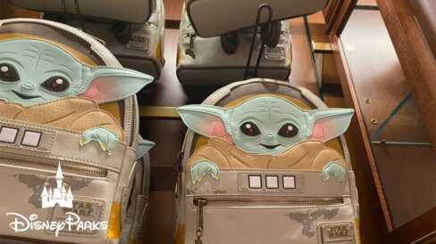 New Baby Yoda mini backpack