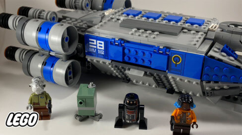 LEGO Resistance I-TS Transport with mini-figures