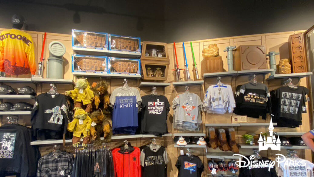 Tatooine Traders sells a variety of Star Wars merchandise