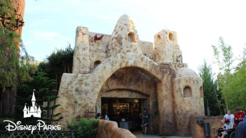 The front entrance of Tatooine Traders at Hollywood Studios