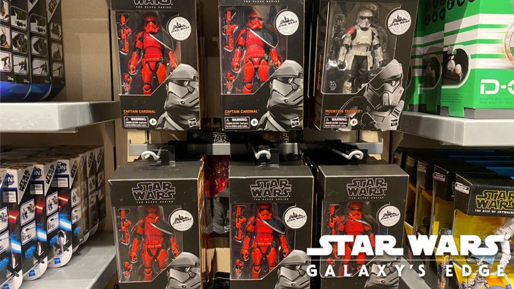 Galaxy's Edge Balc Series figures are available at Tatootine Traders