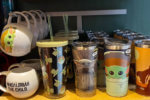 New Baby Yoda Tumblers and coffee cup at the Disney Store