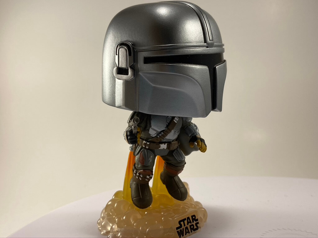 NEW Mandalorian Funko POP! with the jetpack is only available at Gamestop.
