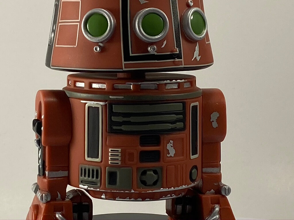 The M5-R3 Funko POP! is part of the Target Galaxy's Edge Collection.