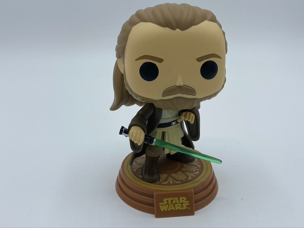 Qui-Gon Jinn Amazon exclusive Funko POP! is a great addition to any Star Wars fan's Funko collection.
